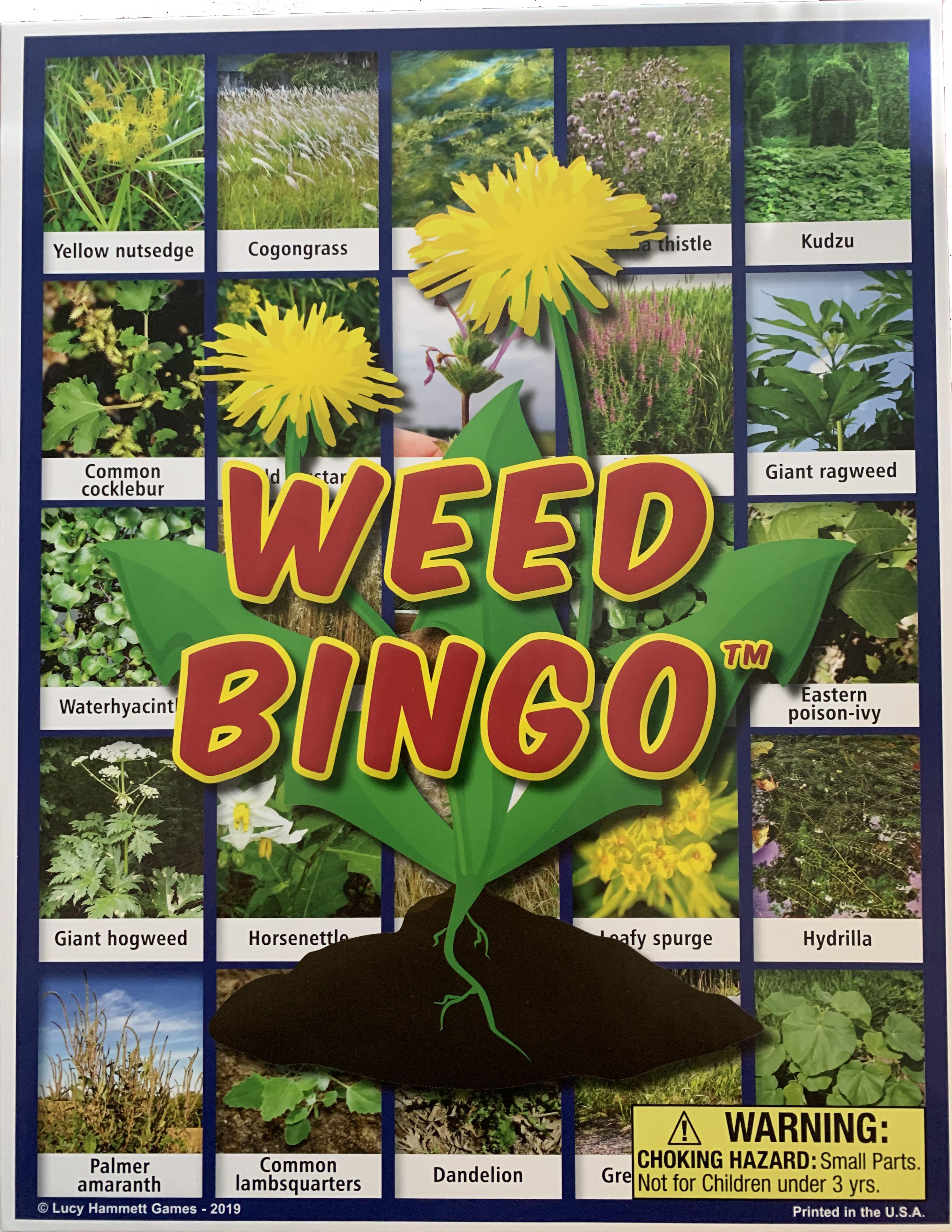 Weed Bingo Front